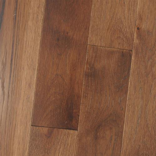 Wire Brushed - Solid Hickory Jamocha