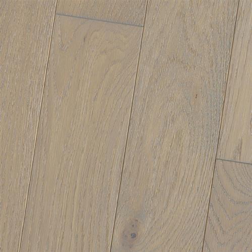 Wire Brushed - Solid White Oak Chinchilla