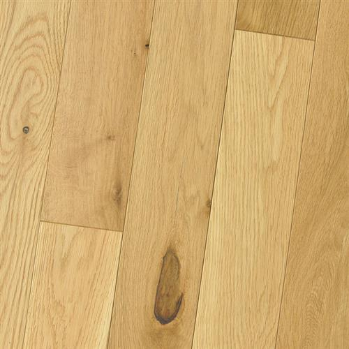 Wire Brushed - Solid White Oak Natural
