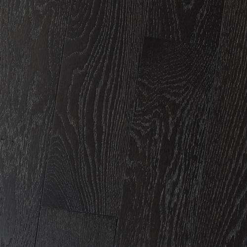 Wire Brushed - Solid White Oak Onyx