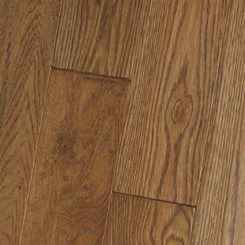 Amish Soft-Scraped - Solid White Oak Caf Aged