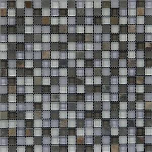 GlassTile GlassMosaicMix 3190 Green