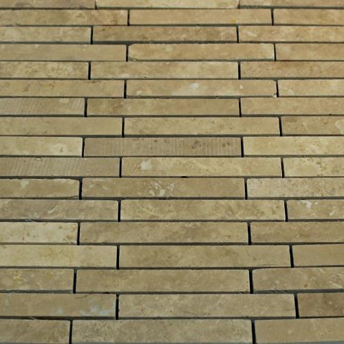 Natural Stone Mosaic Tile Barritas Mocha