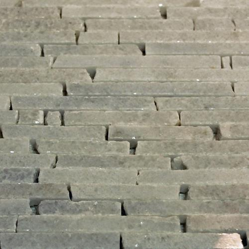 Natural Stone Mosaic Tile Barritas Blanco Crystal