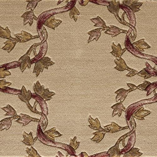 Ashton House Ribbon Trellis Haze Beige