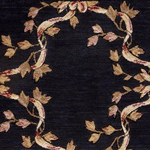 Ashton House Ribbon Trellis Mist Black