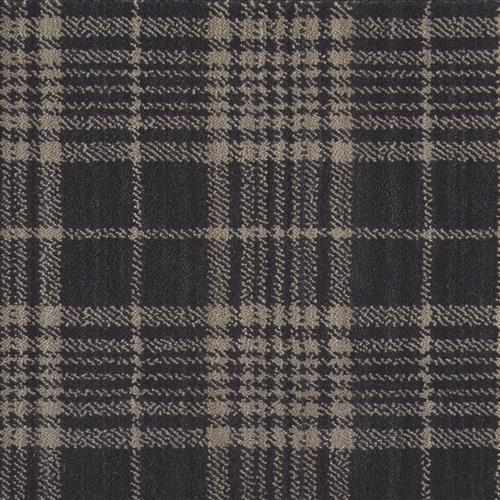 Gingham Charcoal