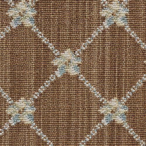 Luxe Pointe Flower Trellis Brown