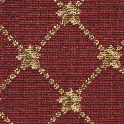 Luxe Pointe Flower Trellis Red