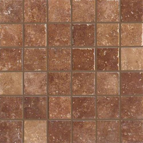 Walnut Canyon Umber Mosaic 2X2 Square - 13X13