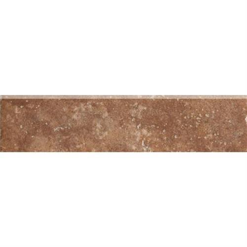 Walnut Canyon Umber Bullnose - 3X13