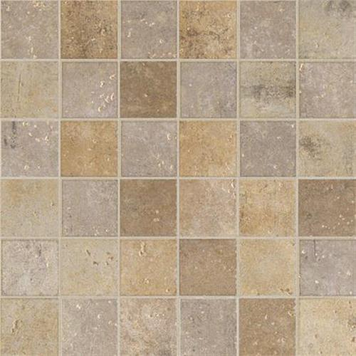 Walnut Canyon Cream Mosaic 2X2 Square