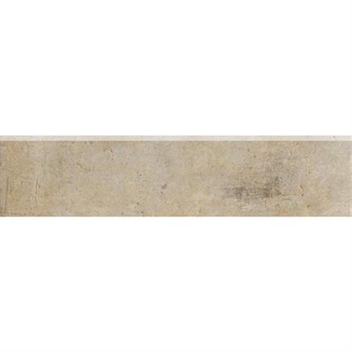 Walnut Canyon Cream Bullnose - 3X13