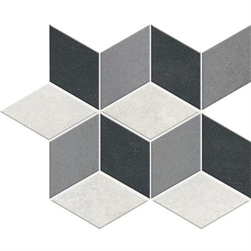 Oxford Porcelain Mosaic Grey Suitable For Floors  Walls