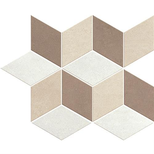 Oxford Porcelain Mosaic Brown Suitable For Floors  Walls