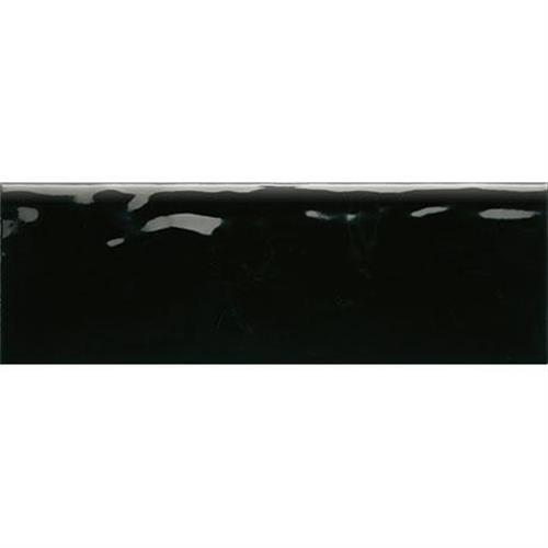 Middleton Square Black Bean Wall Bullnose - 4X13