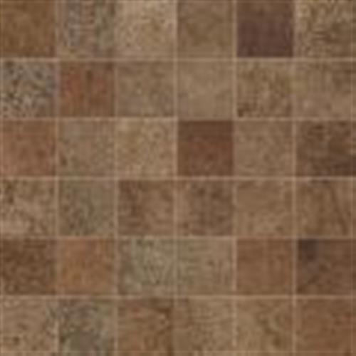 Livigno Noce Mosaic 2X2 Square - 12X12