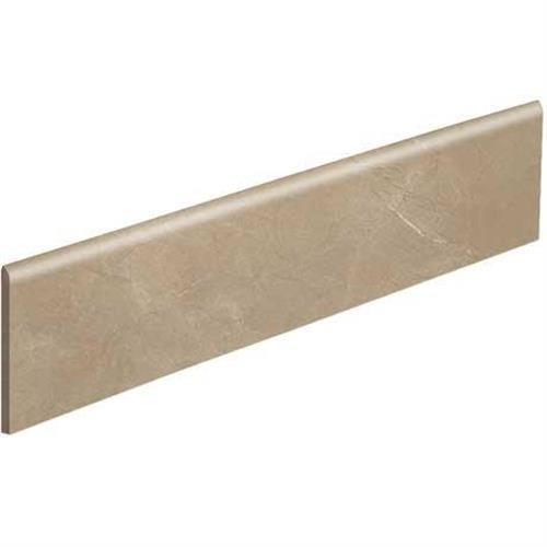 Classentino Marble in Corinth Beige Polished Bullnose  3x24 - Tile by Marazzi