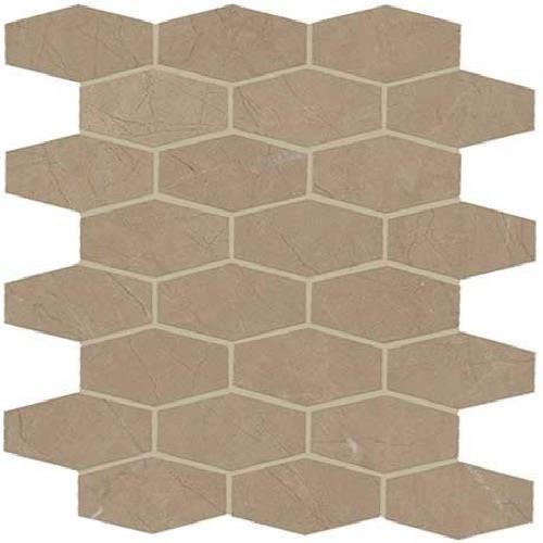 ProductVariant swatch small for Corinth Beige Matte   Hex Mosaic flooring product