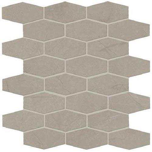 ProductVariant swatch small for Coliseum Gray Matte   Hex Mosaic flooring product