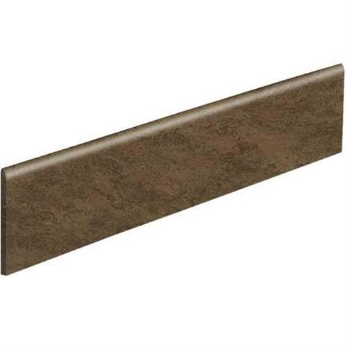 Classentino Marble in Imperial Brown Polished Bullnose   3x24 - Tile by Marazzi