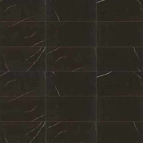 Swatch for Centurio Black Matte   24x24 flooring product
