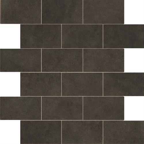 Essentials Basic Black Mosaic 2X4 Brick