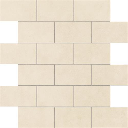 Essentials Wondrous White Mosaic 2X4 Brick