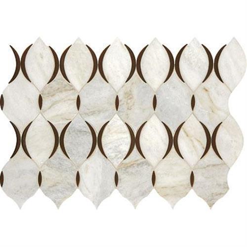 Predella Lumen White Blend Mosaic Modern Lantern - 11X7