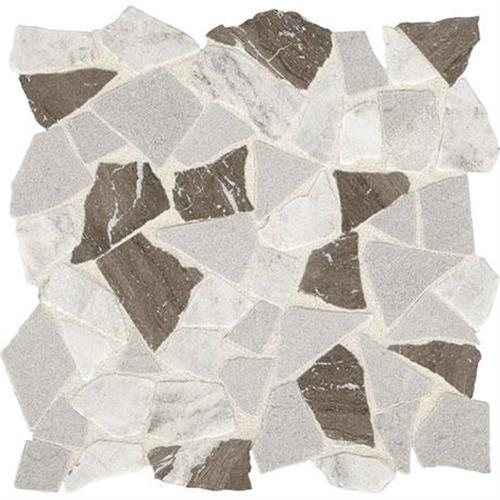 Predella Reverent Taupe Blend Mosaic Pebble -