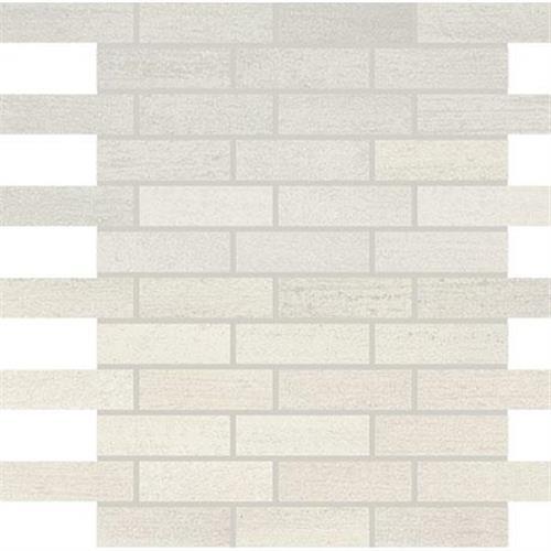 White Mosaic (1x3) - 12x12