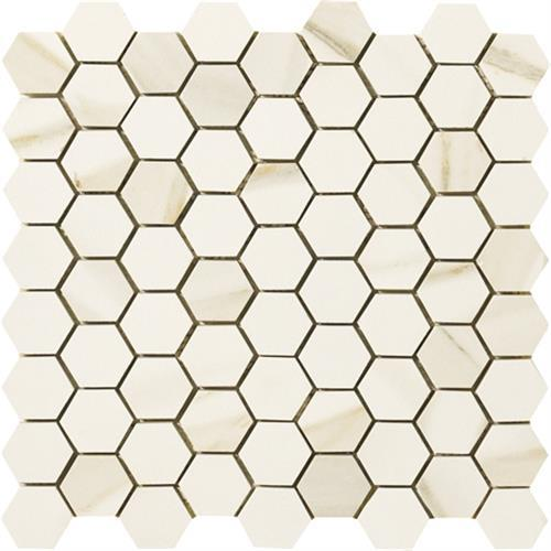 Timeless Collection Calacatta Pearl Mosaic 175X15 Hexagon