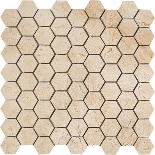 Timeless Collection Marfil Cream Mosaic 175X15 Hexagon