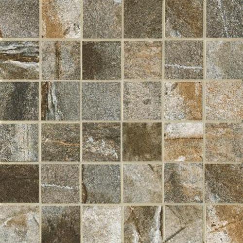 Vesale Stone Moss Mosaic 2X2 Square - 13X13