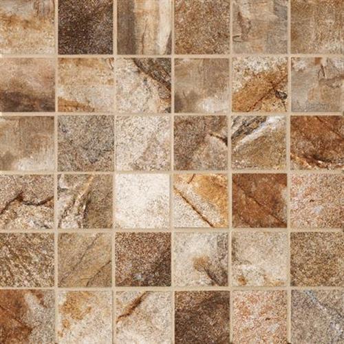 Vesale Stone Rust Mosaic 2X2 Square