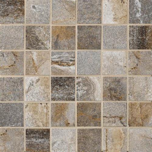 Vesale Stone Smoke Mosaic 2X2 Square