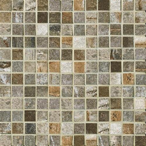 Vesale Stone Moss Mosaic 1X1 Square - 13X13