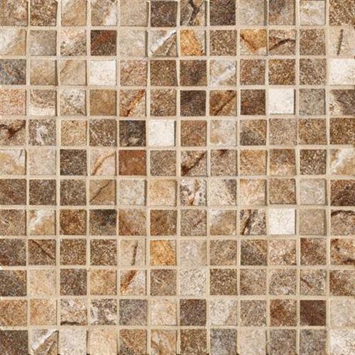 Vesale Stone Rust Mosaic 1X1 Square - 13X13