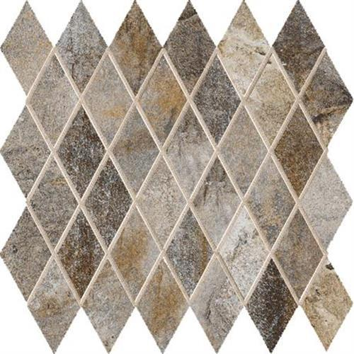 Vesale Stone Smoke Mosaic 2X35 Diamond