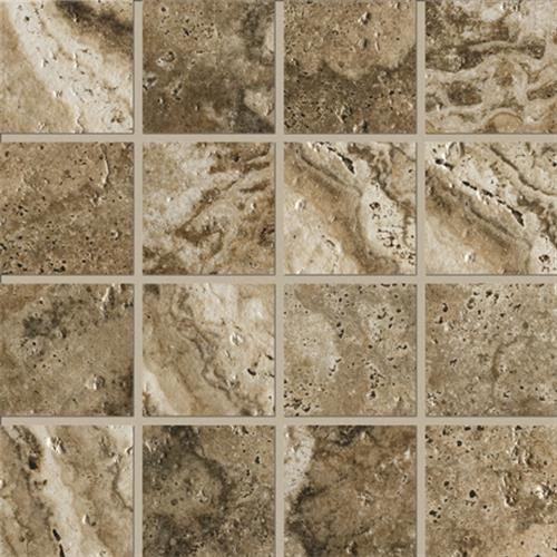 Archaeology in Troy 3x3 Mosaic - Tile by Marazzi