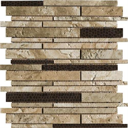Archaeology in Babylon   13x13 Pinwheel Mosaic - Tile by Marazzi