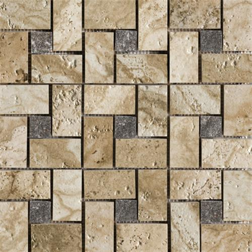 Archaeology in Babylon Pinwheel Mosaic - Tile by Marazzi