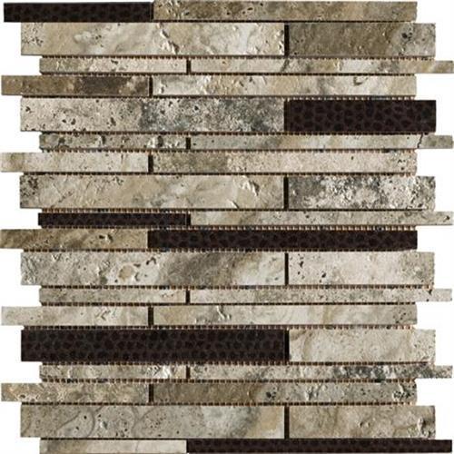 Crystal River - 13x13 Pinwheel Mosaic