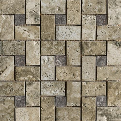 Archaeology in Crystal River Pinwheel Mosaic - Tile by Marazzi