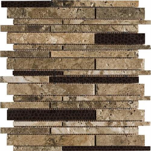 Archaeology in Troy   13x13 Pinwheel Mosaic - Tile by Marazzi