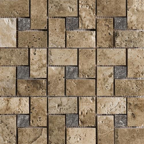 Archaeology Troy Pinwheel Mosaic