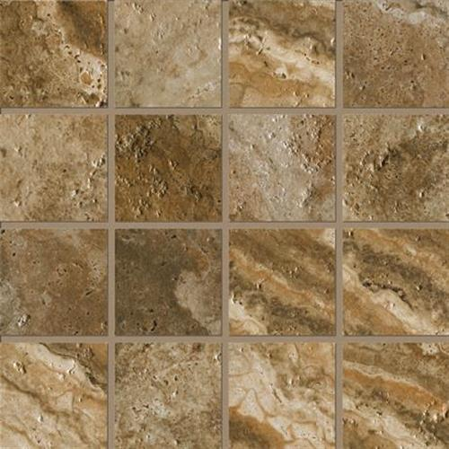 Archaeology in Chaco Canyon   12x12 Strip Mosaic - Tile by Marazzi