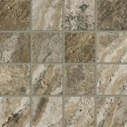 Archaeology Crystal River - 12X12 Strip Mosaic