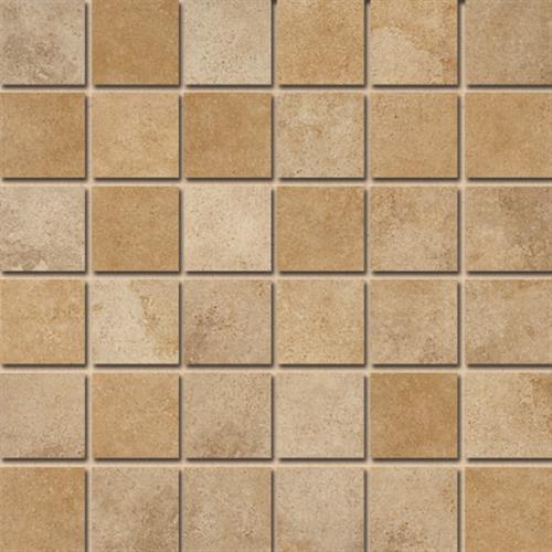 Stone Age Sequoyah Mosaic 2X2 Square