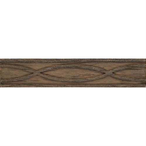 Divine Woods Liner Criss-Cross Medium Brown